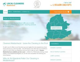 Local cleaners Maidenhead