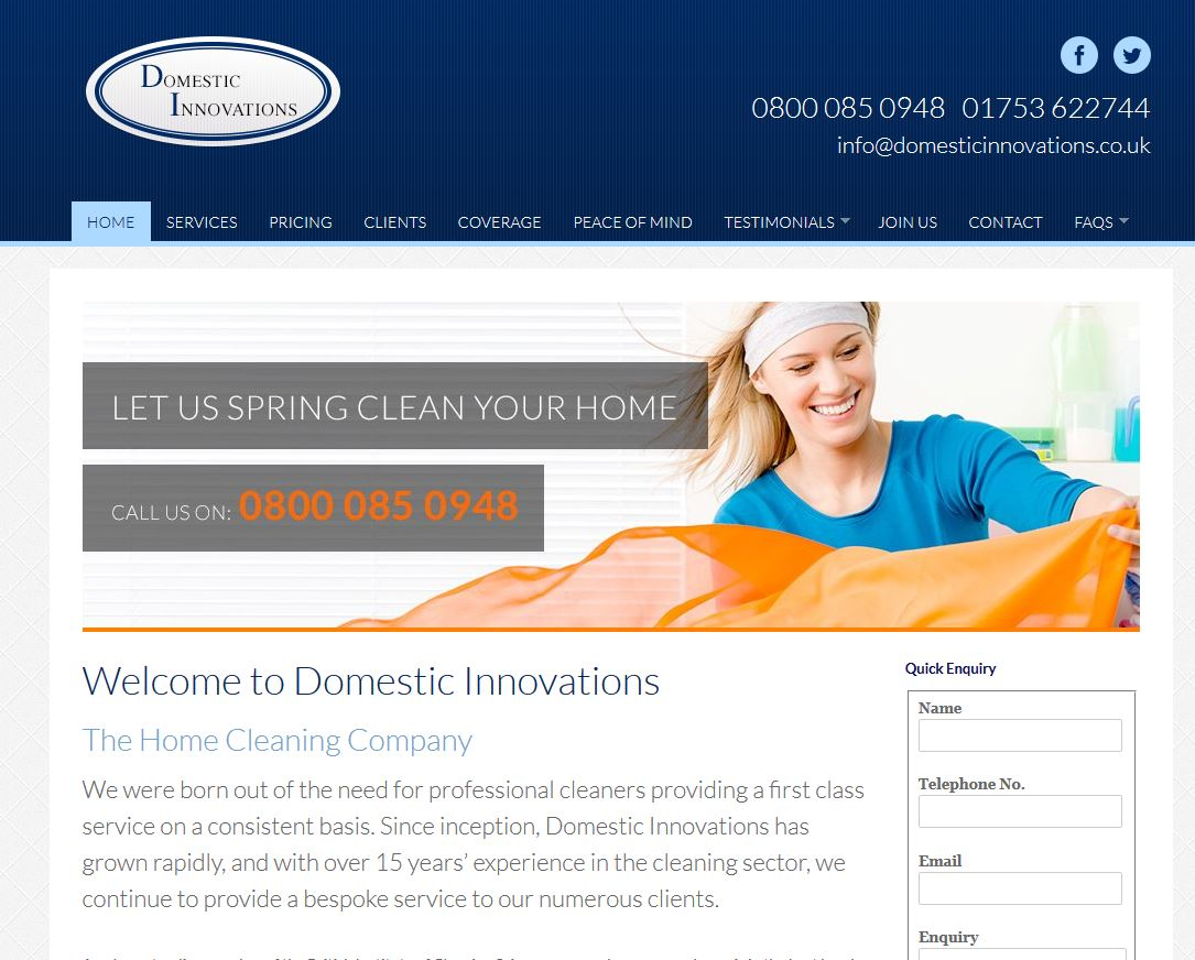 how to run a cleaning business from home